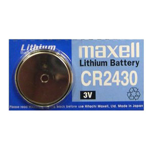 Maxell CR2430-BP(3V 610mAh)